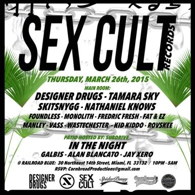 ClubSpiderPussy.com / Spider-Pussy / Sex Cult Records / Desgner